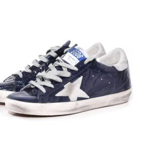 Golden Goose Superstar Blue Wave Leather/Ice Star
